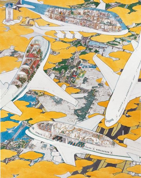 yamaguchi akira's 'narita international airport' (2005)