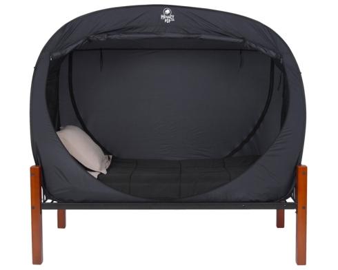 privacy pop bed tent. Black Bedroom Furniture Sets. Home Design Ideas