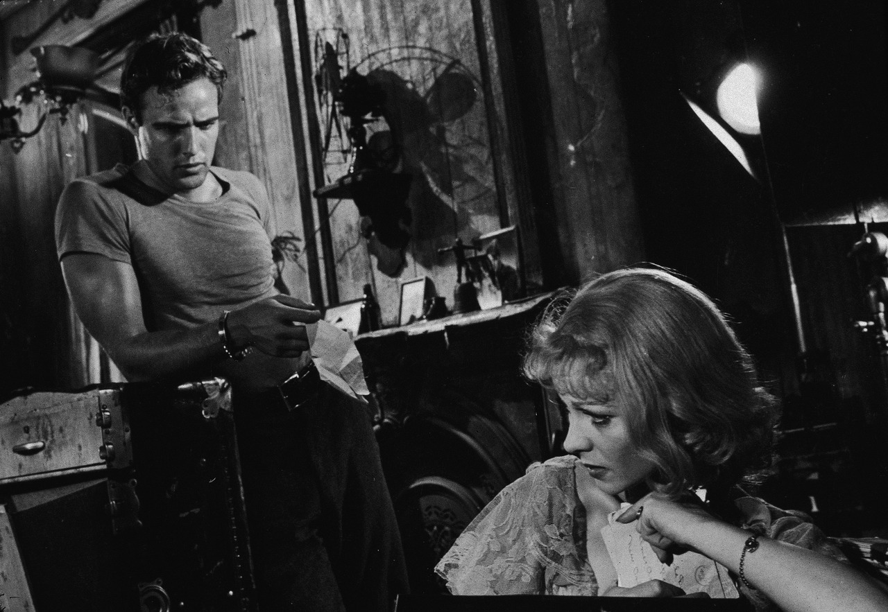 black and white photography brando and leigh in a streetcar d desire