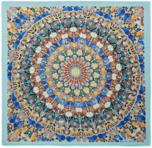 butterfly kaleidoscope scarf