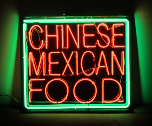 """""""american melting pot 1"""" (chinese mexican)"""