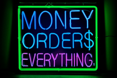 """money orders"""