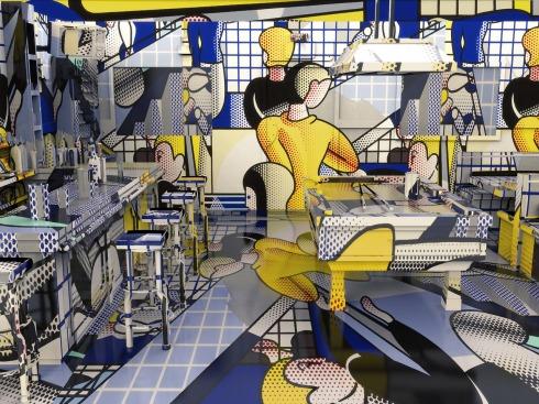 Lichtenstein Moe's Tavern, 2013