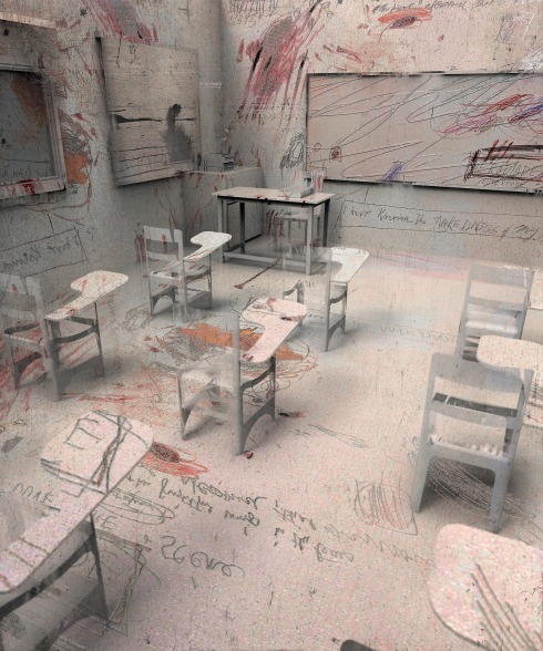 Twombly Classroom, 2013